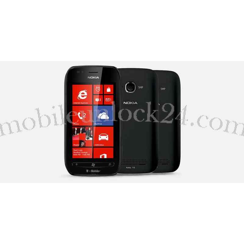 Unlock Nokia Lumia 710